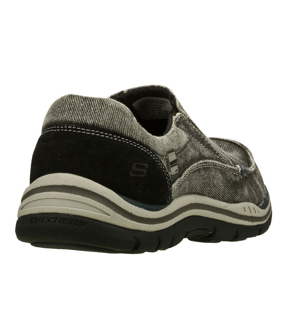 new authentic delicate colors separation shoes Skechers 64109 BLK Men's EXPECTED - AVILLO Loafers