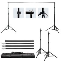 Zimtown 10Ft Adjustable Background Support Stand Photo Photography Video Backdrop Kit