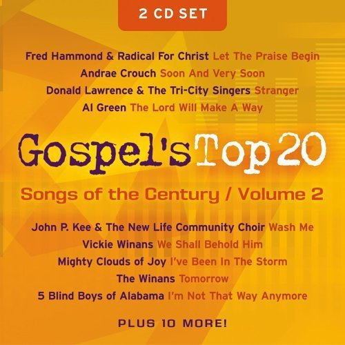 Gospel's Top 20 Songs Of The Century, Vol.2 (2CD)