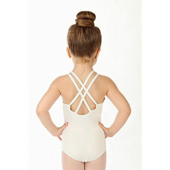 f93263427 Elowel Pajamas - Elowel Girls  Double Strap Camisole Leotard Light ...