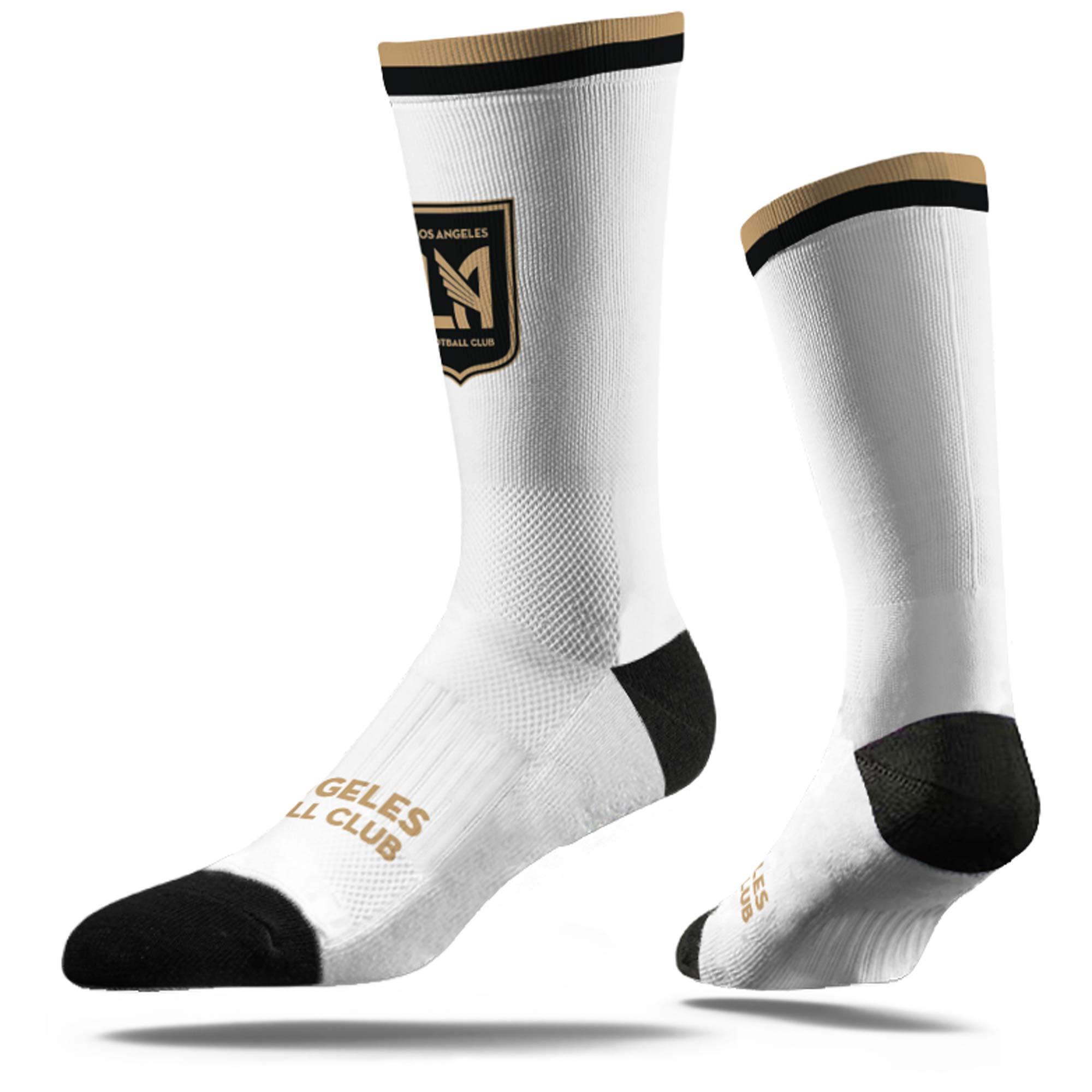 LAFC Dress Socks - White - M/L