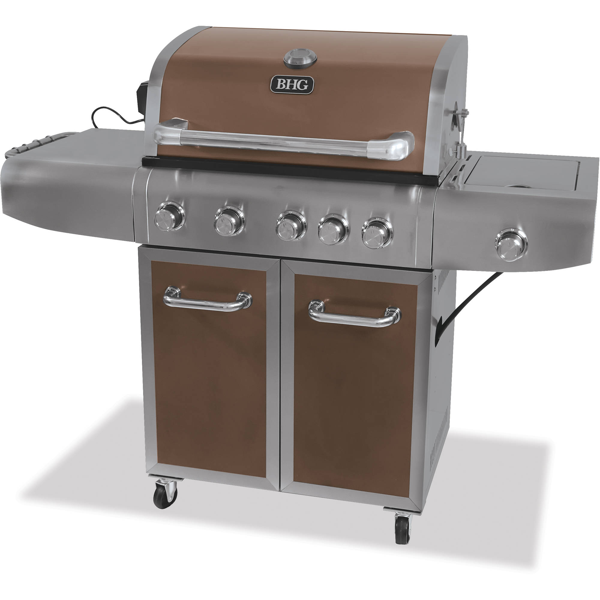 Better Homes and Gardens 5 Burner Gas Grill Walmart