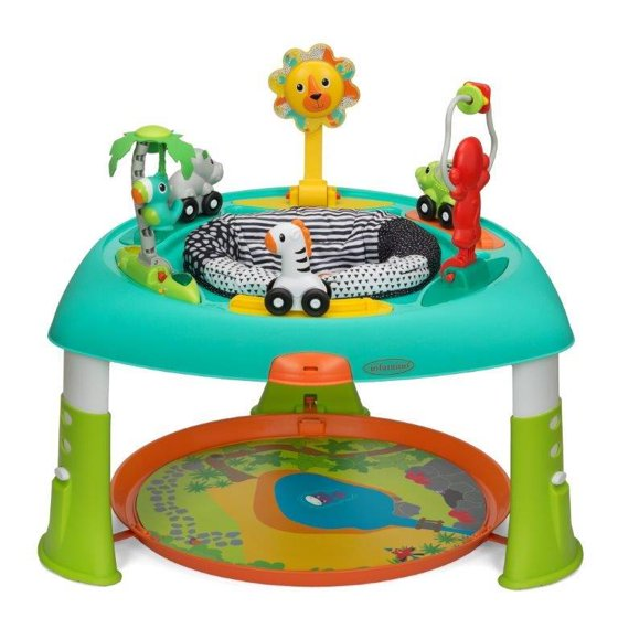 Infantino Sit Spin Stand Entertainer 360 Seat Activity Table
