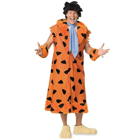 Fred Flintstone GT Adult Halloween Costume, Size: Men's - One Size - Fred Halloween Costume