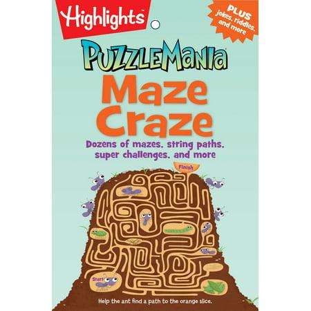 Maze Craze : Dozens of mazes, string paths, super challenges, and more