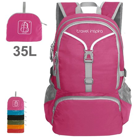 Lightweight Packable Backpack Hiking Daypack Handy Foldable Camping Outdoor School Cycling 35 Liters (Best 35 Liter Backpack)