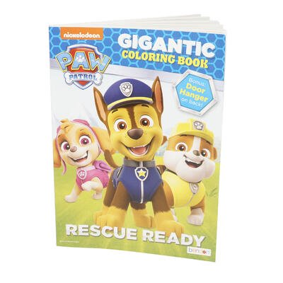Paw Patrol Gigantic Coloring and Activity Book
