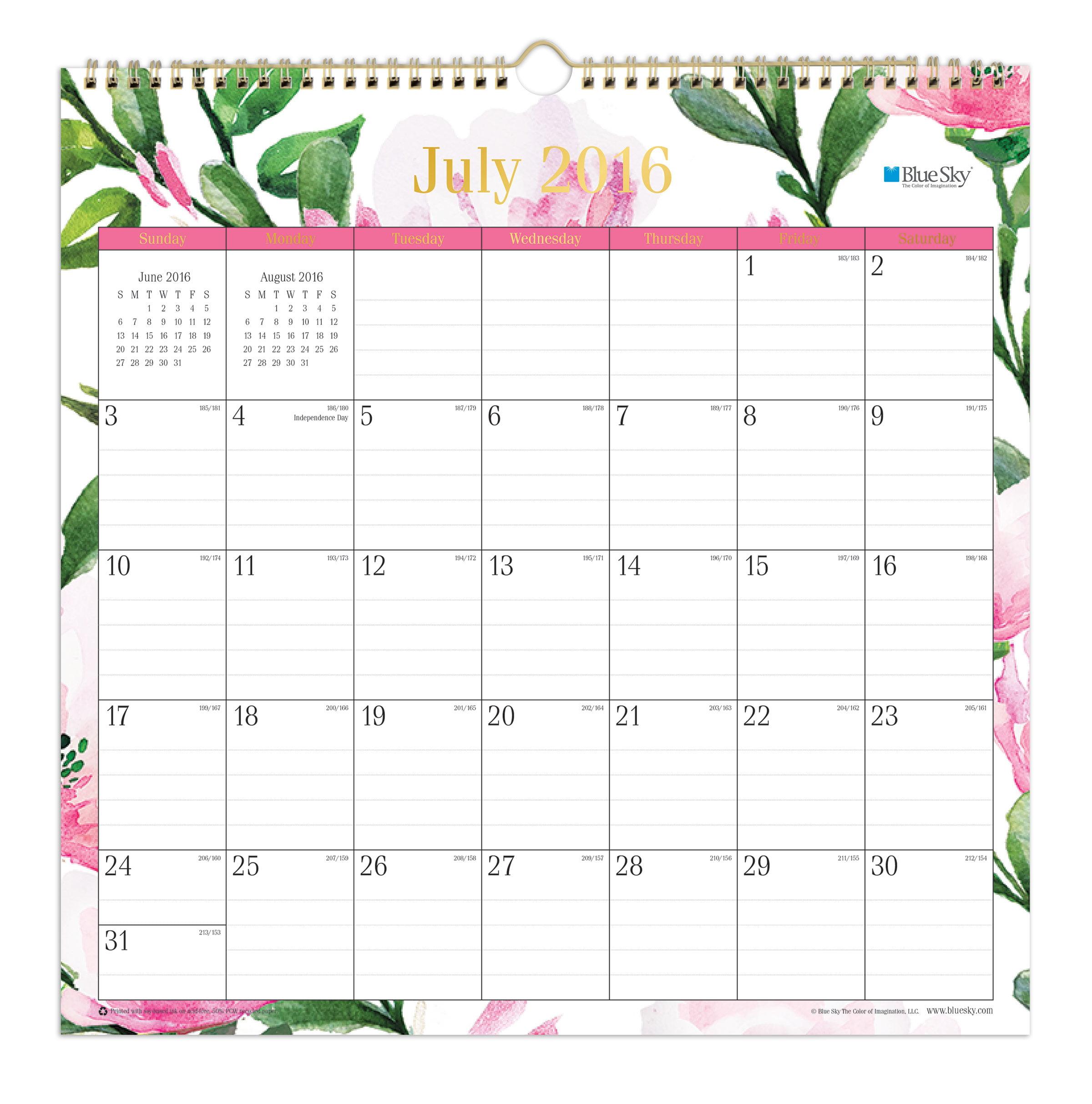 the official home 2016 square calendar