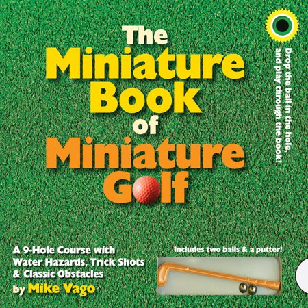 Miniature Book of Miniature Golf - Hardcover ()