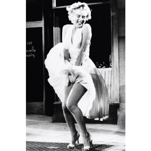Marilyn Monroe Skirt Raise Poster