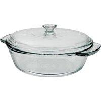 Anchor Hocking Oven Basics Glass 2 Quart Clear Casserole Bowl