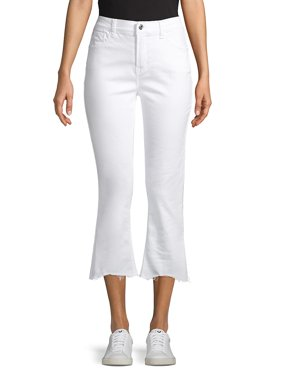 Demi-Flare Cropped Jeans