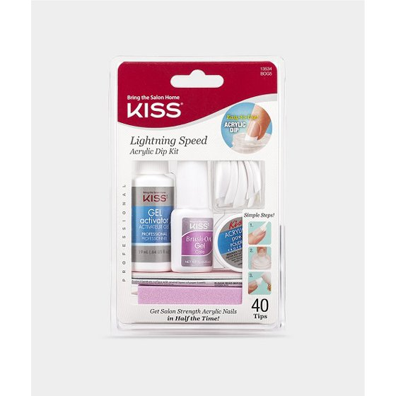 KISS - Lightning Speed Salon Dip Powder Manicure Kit - 1 Kit ...