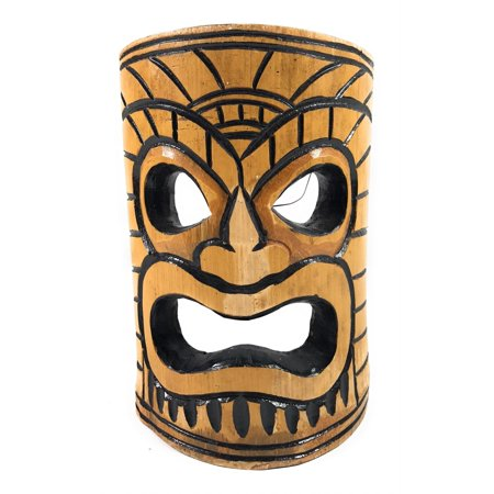 Warrior Chief Bamboo Tiki Mask 8