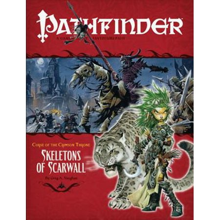 Pathfinder #11 Curse of the Crimson Throne: Skeletons of Scarwall](Skeleton Knight)