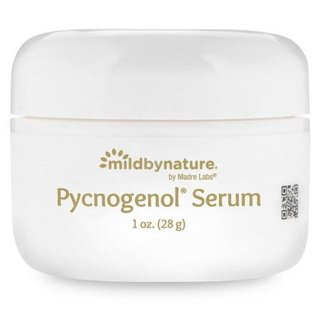 - Mild By Nature  Pycnogenol Serum  Cream   Soothing and Anti-Aging  1 oz  28 g