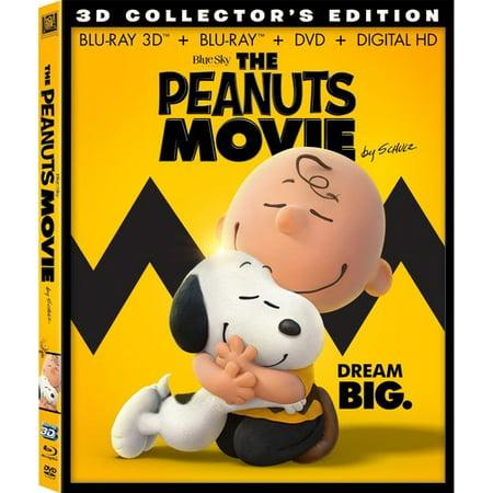 The Peanuts Movie  Blu Ray