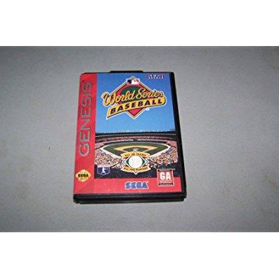 World Series Baseball Sega Genesis by