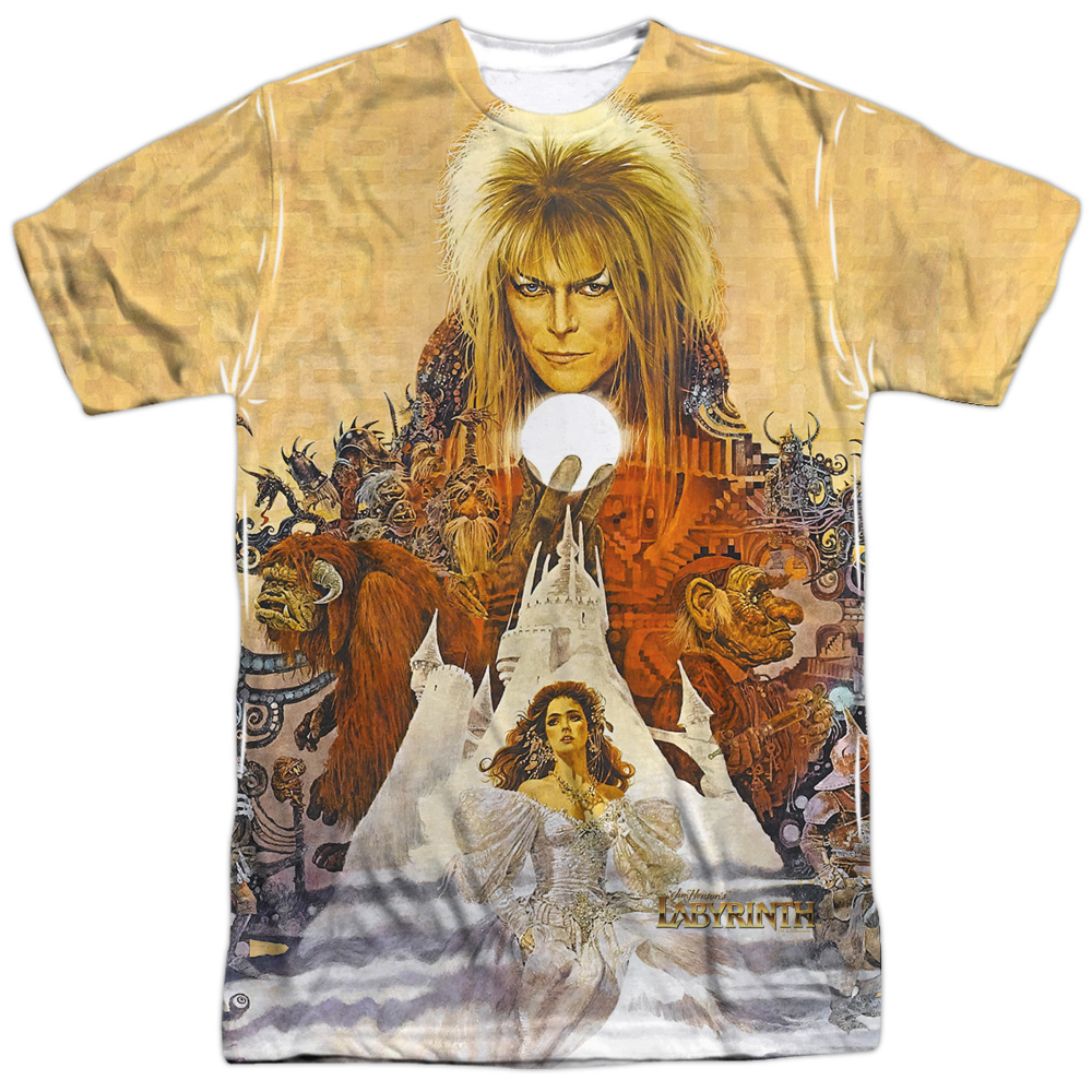 Labyrinth Cover Art Mens Sublimation Shirt