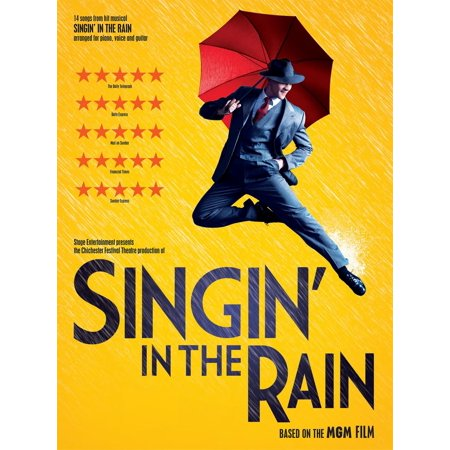 Singin' In The Rain (PVG) - eBook (Fool In The Rain Piano Sheet Music)