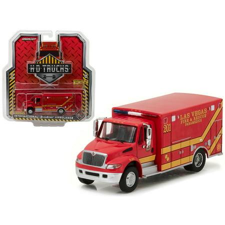 Five Series (2013 International Durastar Las Vegas Fire & Rescue Paramedics Ambulance HD Trucks Series 9 1/64 Diecast by Greenlight )