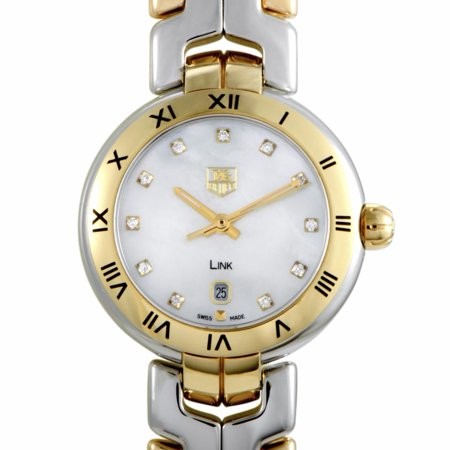 Authentic New Tag Heuer Link (Pre-Owned Tag Heuer Link WAT1453.  Women Watch (Certified Authentic &)