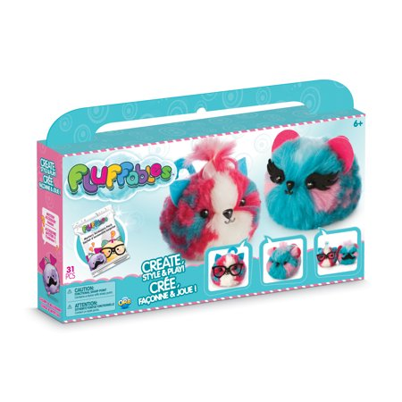 Fun Factory Cherry (The Orb Factory Make Your Own Fluffables Collectible Craft Kit Cherry & Blueberry (Double))