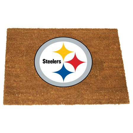 Memory Company Pittsburgh Steelers Color Exterior Doormat ()