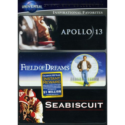 Inspirational Favorites: Apollo 13 / Field Of Dreams / Seabiscuit (Anamorphic Widescreen)
