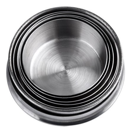 Stainless Steel Mini Travel Retractable Cup Keychain Telescopic Camping - image 8 of 10