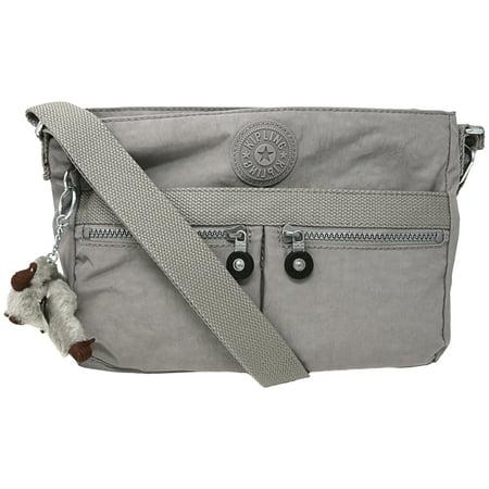 Women S Angie Nylon Cross Body Bag Slate Grey