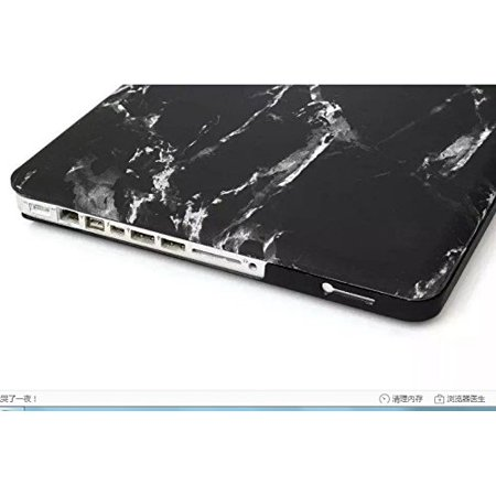 """DWSFADA Computer MacBookAir13pro15 """"marble pattern water pasted frosted case protector, suitable for apple laptop, 13 - image 2 of 3"""