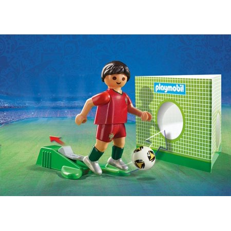 Playmobil #9516 FIFA National Team Player Portugal - New Factory Sealed