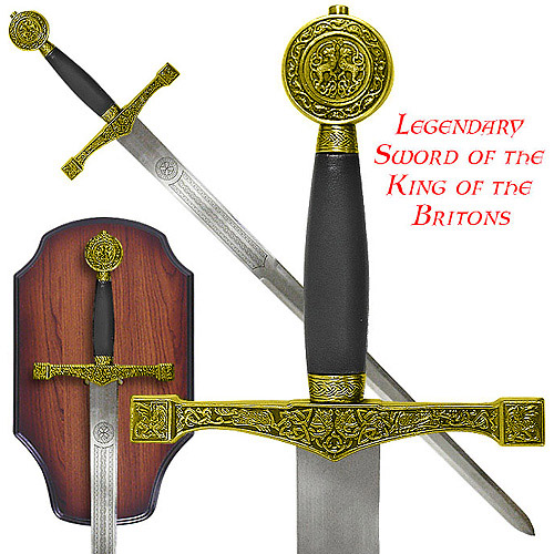 Gold Legendary Sword of the King of the Britons