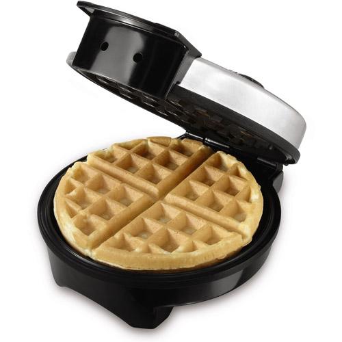 Sunbeam 8-Inch Belgian Waffle Maker, Stainless Steel