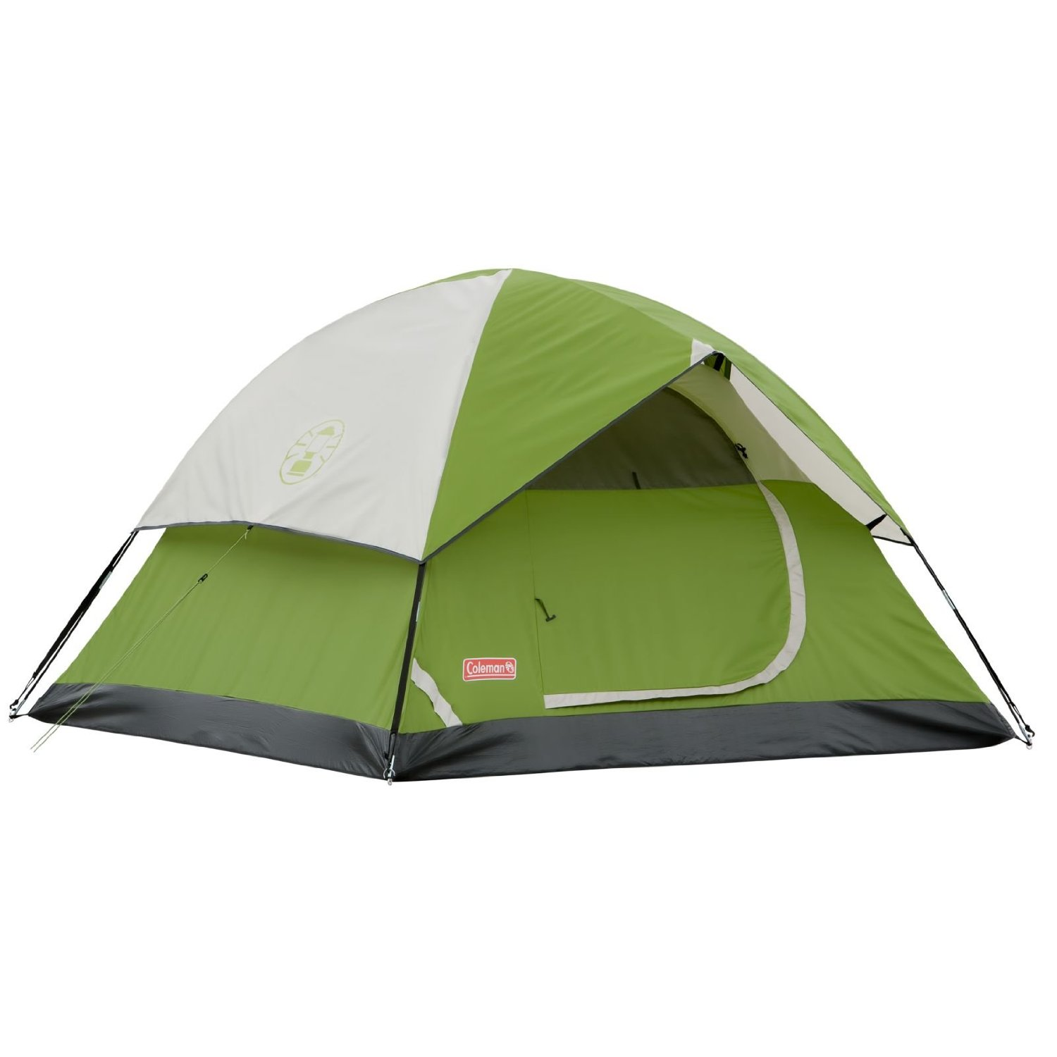 Coleman Sundome 6 Person 10 x 10 Feet 2-Pole C&ing Tent Green |  sc 1 st  Walmart & Coleman Sundome 6 Person 10 x 10 Feet 2-Pole Camping Tent Green ...