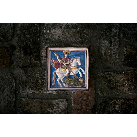 Dragon Slayer Poster - LAMINATED POSTER St George Dragon Slayer George Dragon Europe Poster Print 24 x 36