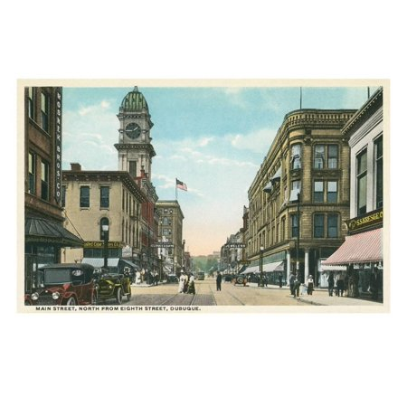 Main Street, Dubuque, Iowa Print Wall - Party City Dubuque Iowa