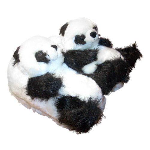 Comfy Feet Panda Animal Feet Slippers