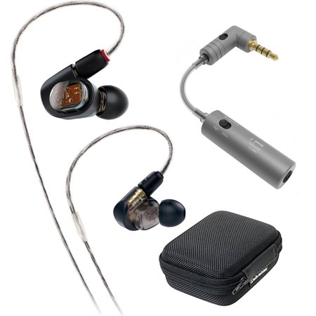 Audio-Technica Professional In-Ear Monitor Headphone (ATH-E70) with iFi Audio (Adam Professional Audio)