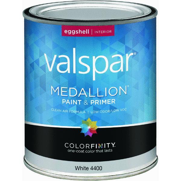 Valspar Medallion 100% Acrylic Paint & Primer Eggshell Interior Wall Paint