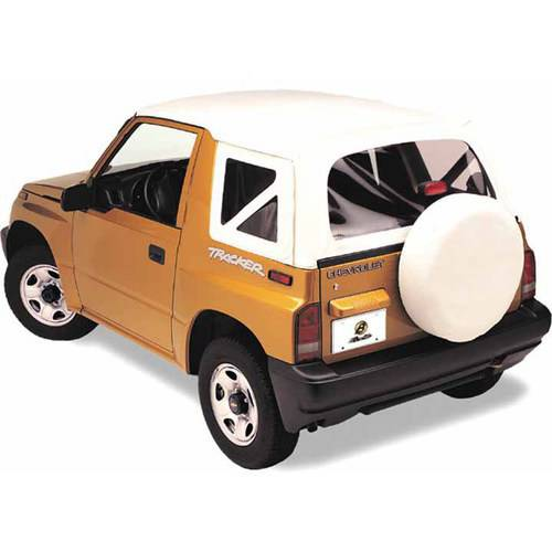 Bestop 51362-52 Tracker/Sidekick with Clear Windows Replace-A-Top Fabric Only Top