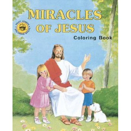 Miracles of Jesus Coloring Book - Miracle Of Jesus