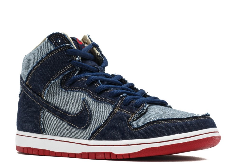 brand new a91e2 50531 Nike - Men - Nike Sb Dunk High Trd Qs  Reese Forbes Denim  - 881758-441 -  Size 11