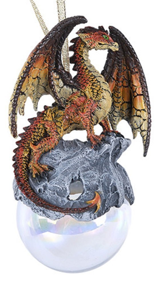 Hyperion Dragon Christmas Tree Ornament Medieval Mythical ...