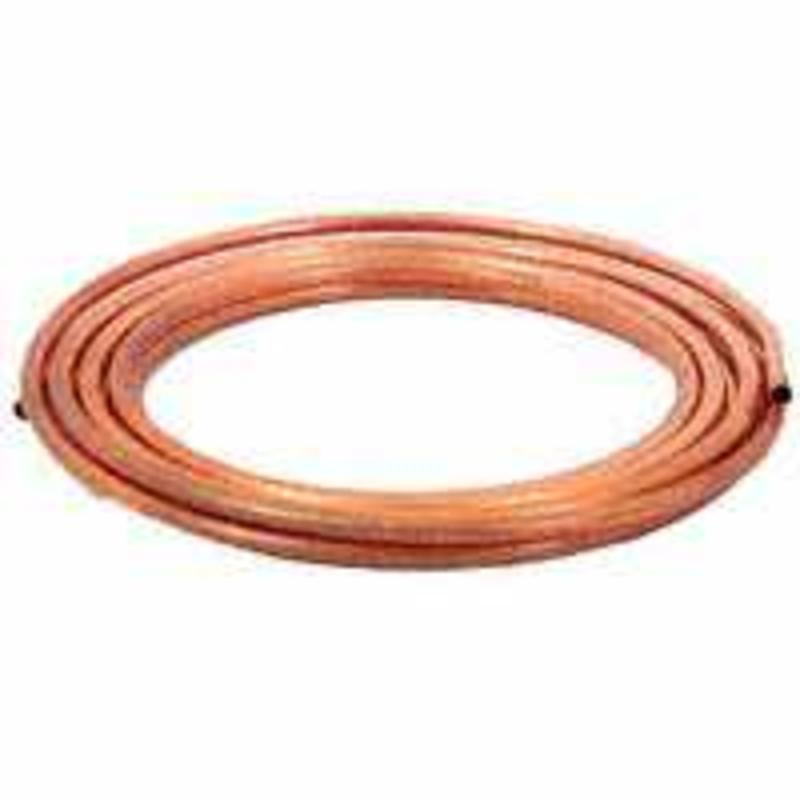 5/8X10Ft Copper Coil Tubing CARDEL INDUSTRIES Copper Tubing-Coils RC5810