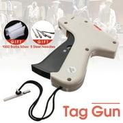 Clothes Garment Price Label Tag Gun Tagging Machine + 1000 Barbs + 5 Steel Needles