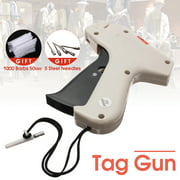 Clothes Garment Price Label Tag Gun Tagging Machine + 1000 Barbs + 5 Steel Needles