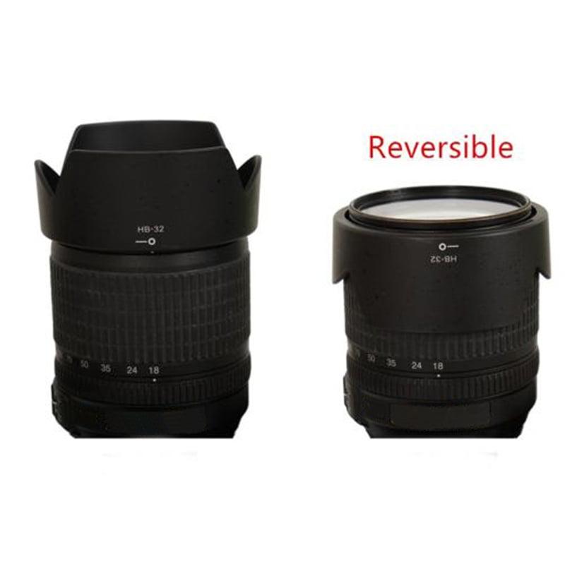 Genuine Nikon HB-32 Lens Hood for NIKKOR 18-105mm 18-140mm 18-135mm 18-70mm GOOD