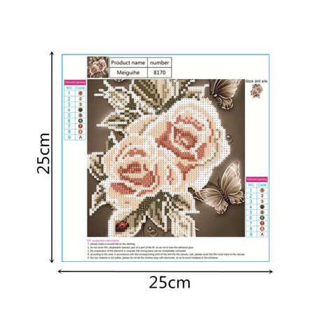 Egmy 5D Embroidery Paintings Rhinestone Pasted DIY Diamond Painting Cross Stitch